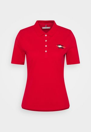 REGULAR FLAG - Poloshirt - primary red