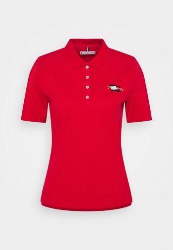 REGULAR FLAG - Polo shirt - primary red