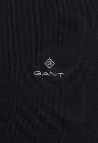 GANT - CLASSIC HALF ZIP - Neule - evening blue - 5