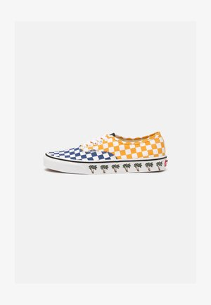 AUTHENTIC UNISEX - Trainers - yellow/blue/white