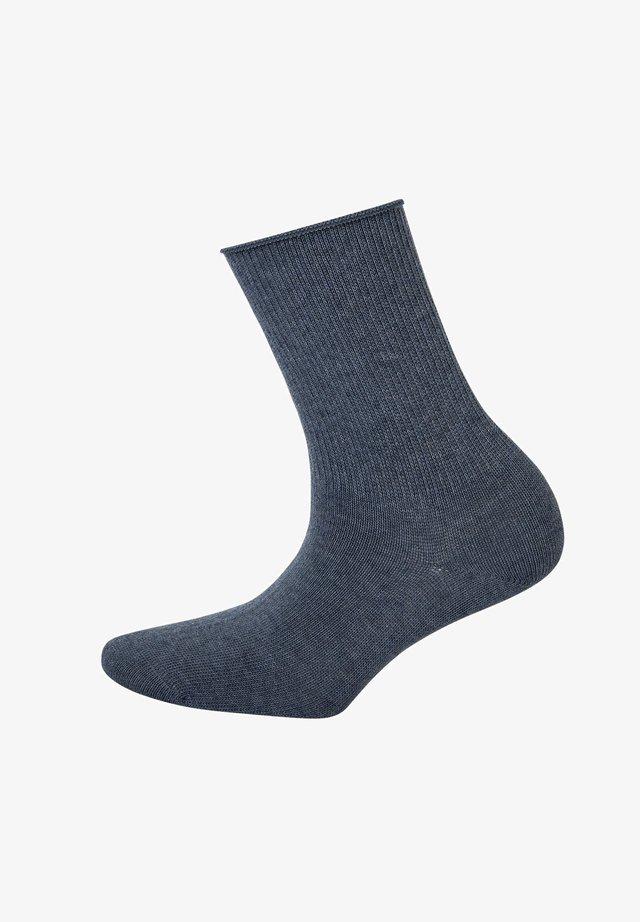 Socks - jeans melange
