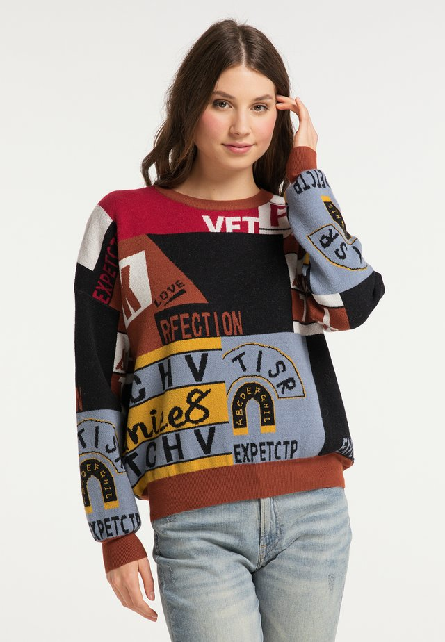 Sweter - multicolor