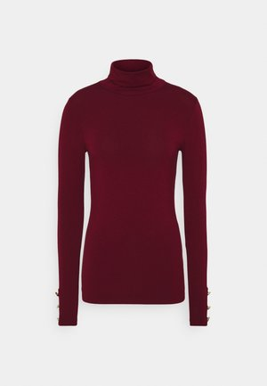 Long sleeved top - oxblood