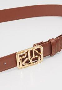 Pinko - FISCHIO SMALL BELT - Belt - brown - 3