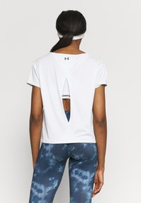 Under Armour - TECH VENT - Camiseta básica - white - 2