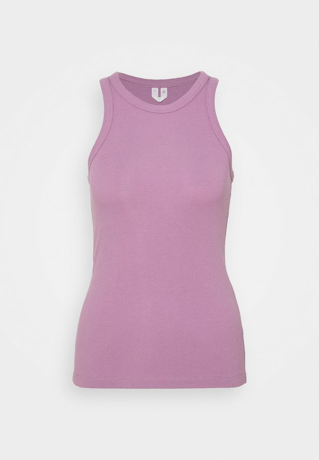 Top - lilac purple