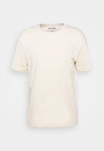 JORLIMITLESS TEE CREW NECK - T-shirt z nadrukiem - turtle dove