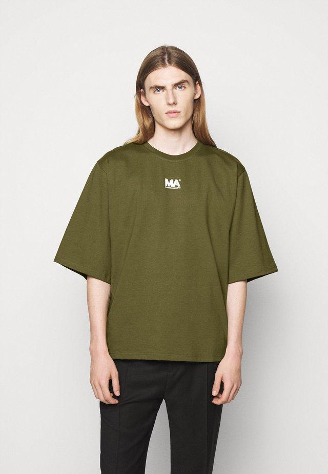 TEE - T-shirt imprimé - olive