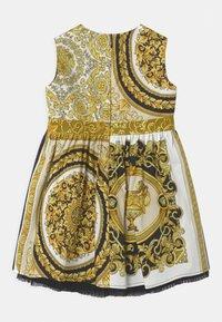 Versace - BAROQUE MOSAIC - Cocktail dress / Party dress - white/gold/black - 1
