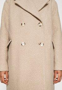 NA-KD - MAXI COAT - Classic coat - light beige - 7