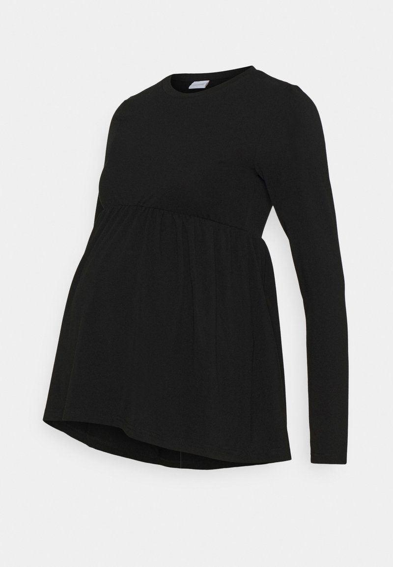 MAMALICIOUS - MLMONICA  - Long sleeved top - black