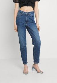 Even&Odd - MOM FIT - Jeans Skinny - blue denim - 0