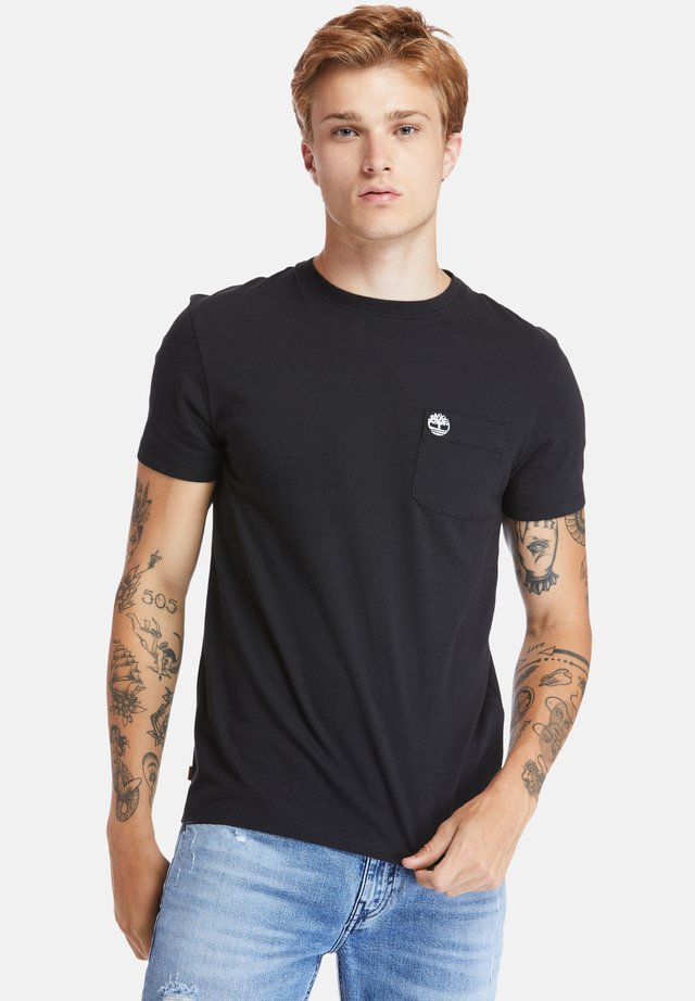 SS DUNSTAN RIVER POCKET TEE - T-paita - black
