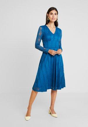 Koktejlové šaty/ šaty na párty - moroccan blue