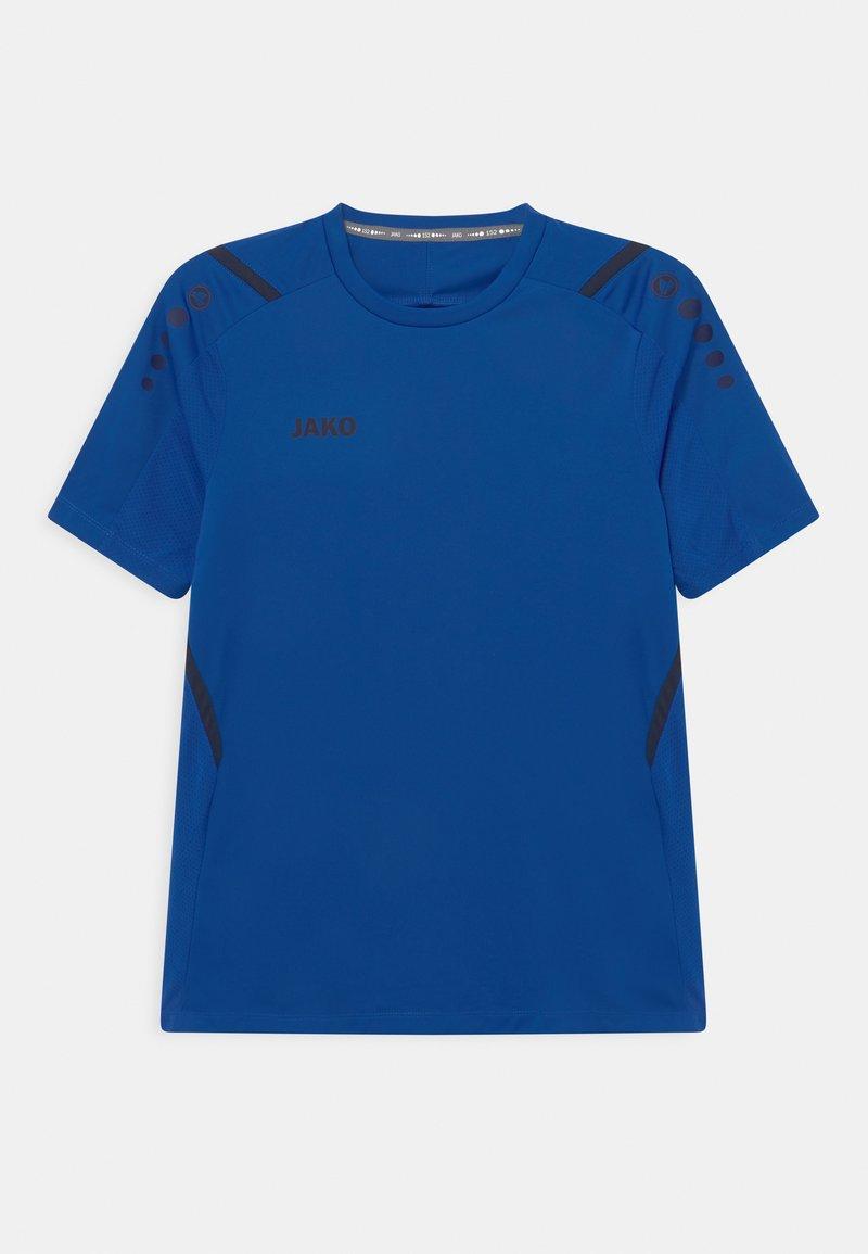 JAKO - CHALLENGE UNISEX - Print T-shirt - royal/marine