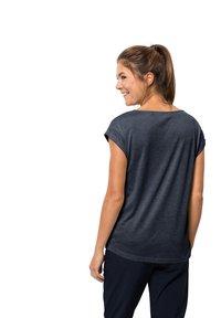 Jack Wolfskin - Basic T-shirt - midnight blue - 1