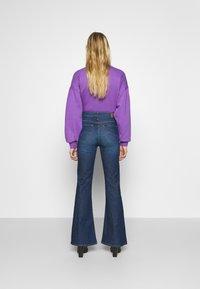 Lee - BREESE - Flared jeans - dark garner - 2