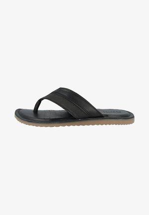 ARTIE - T-bar sandals - black