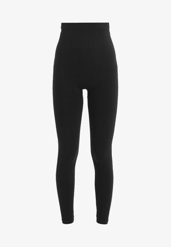 HIGH WAISTED LOOK AT ME  - Leggings - Stockings - very black