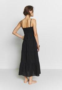 Seafolly - SAFARI SPOT-TIERED DRESS - Kjole - black - 2