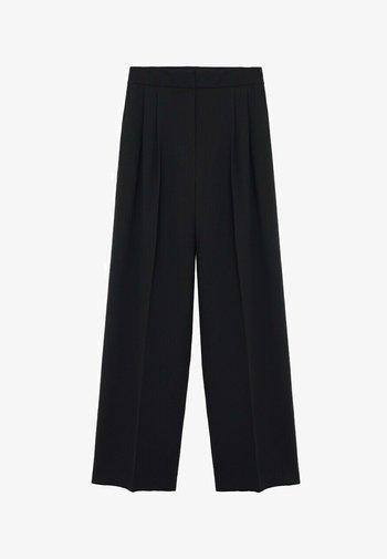 OHIO - Trousers - zwart
