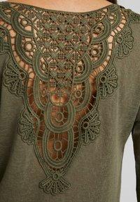 ONLY - ONLCAMI - Long sleeved top - kalamata - 5