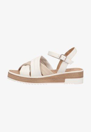 Platform sandals - bianco
