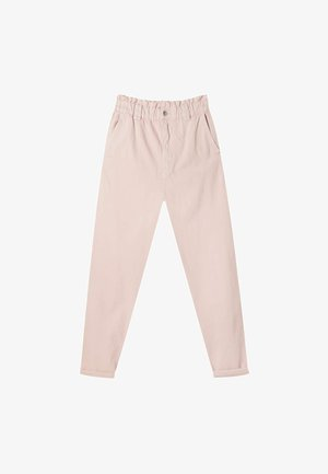 TWILL-BAGGY - Trousers - pink
