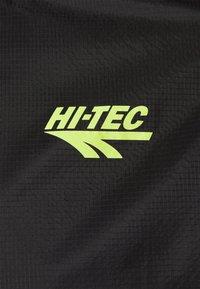 Hi-Tec - LEO LIGHTWEIGHT TRACK JACKET - Träningsjacka - black - 5