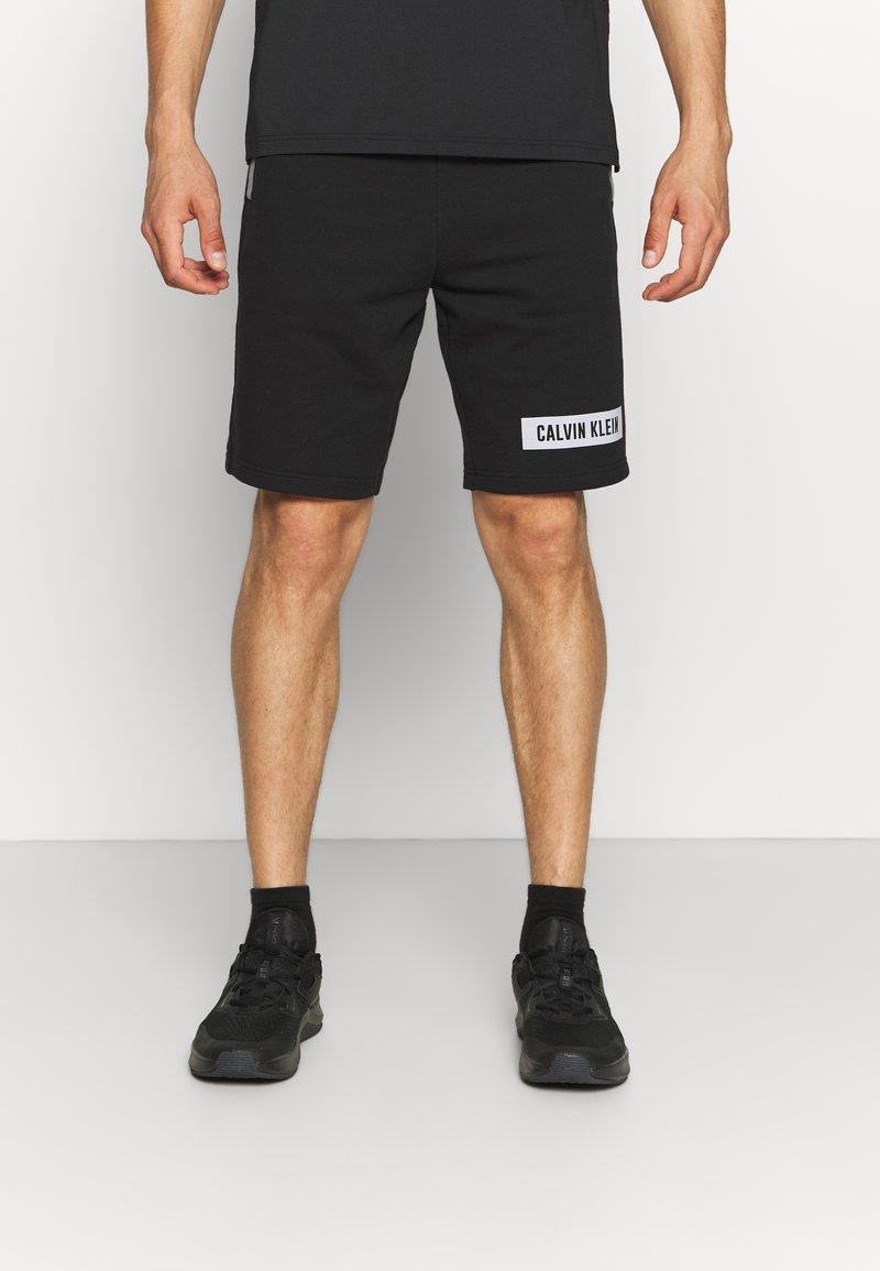Calvin Klein Performance - SHORTS - Pantaloncini sportivi - black