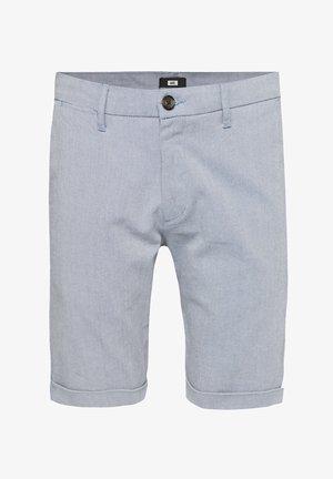 WE FASHION HERREN-SLIM-FIT-SHORTS - Shorts - dark blue