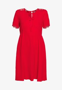 LADIES DRESS - Day dress - red coral