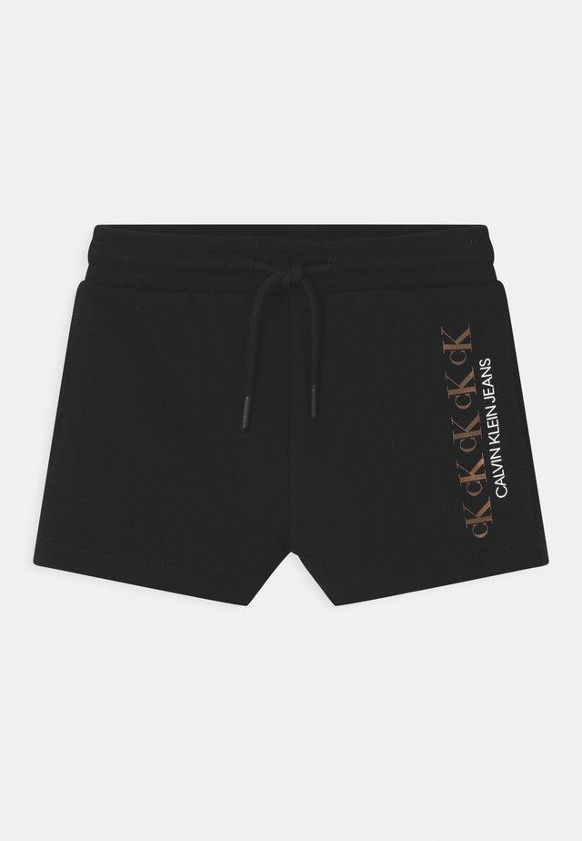 REPEAT FOIL  - Shorts - black