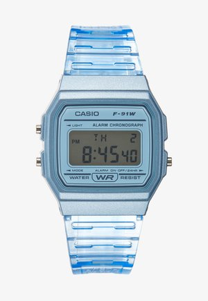 F-91WS-2EF - Digitalklokke - blue
