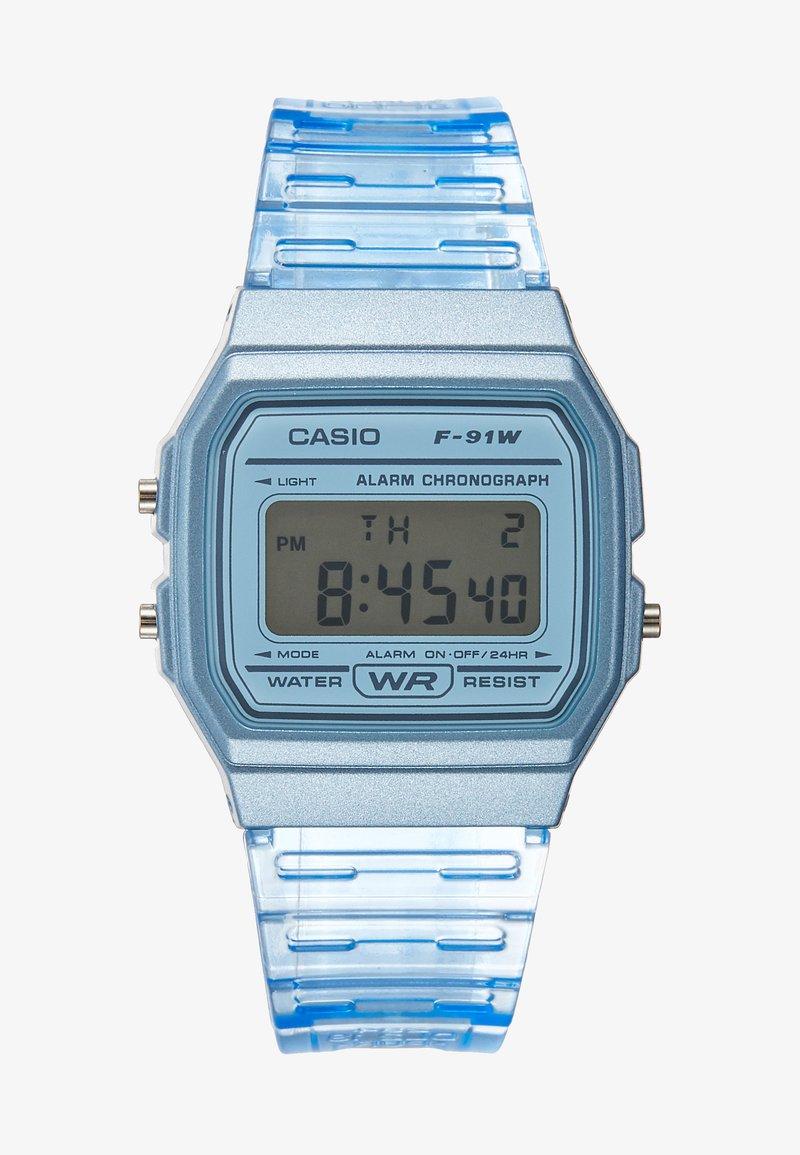 Casio - F-91WS-2EF - Digitální hodinky - blue