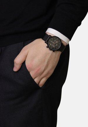 RETRO - Chronograph watch - black