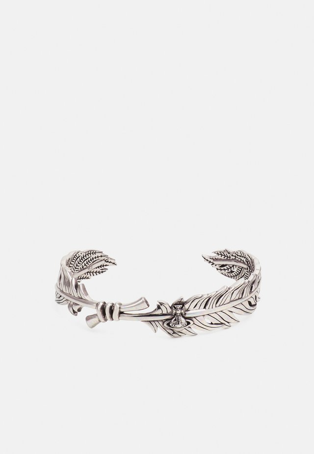 EUGENIO OPEN BANGLE - Bracelet - silver-coloured