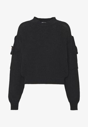 Pullover - obsidian black