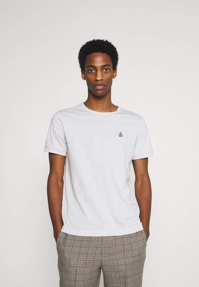 KURZARM - T-shirt - bas - off-white