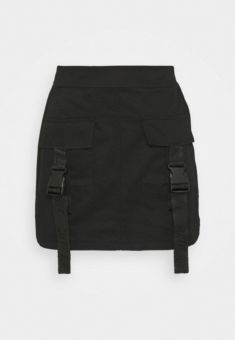 Sixth June - SKIRT - Mini skirt - black