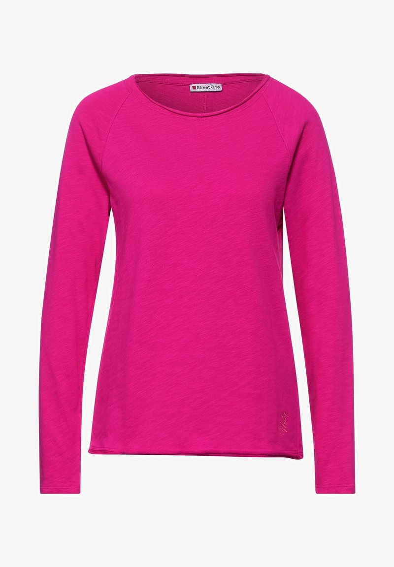 Street One - Long sleeved top - pink