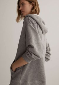 OYSHO - Zip-up hoodie - light grey - 3