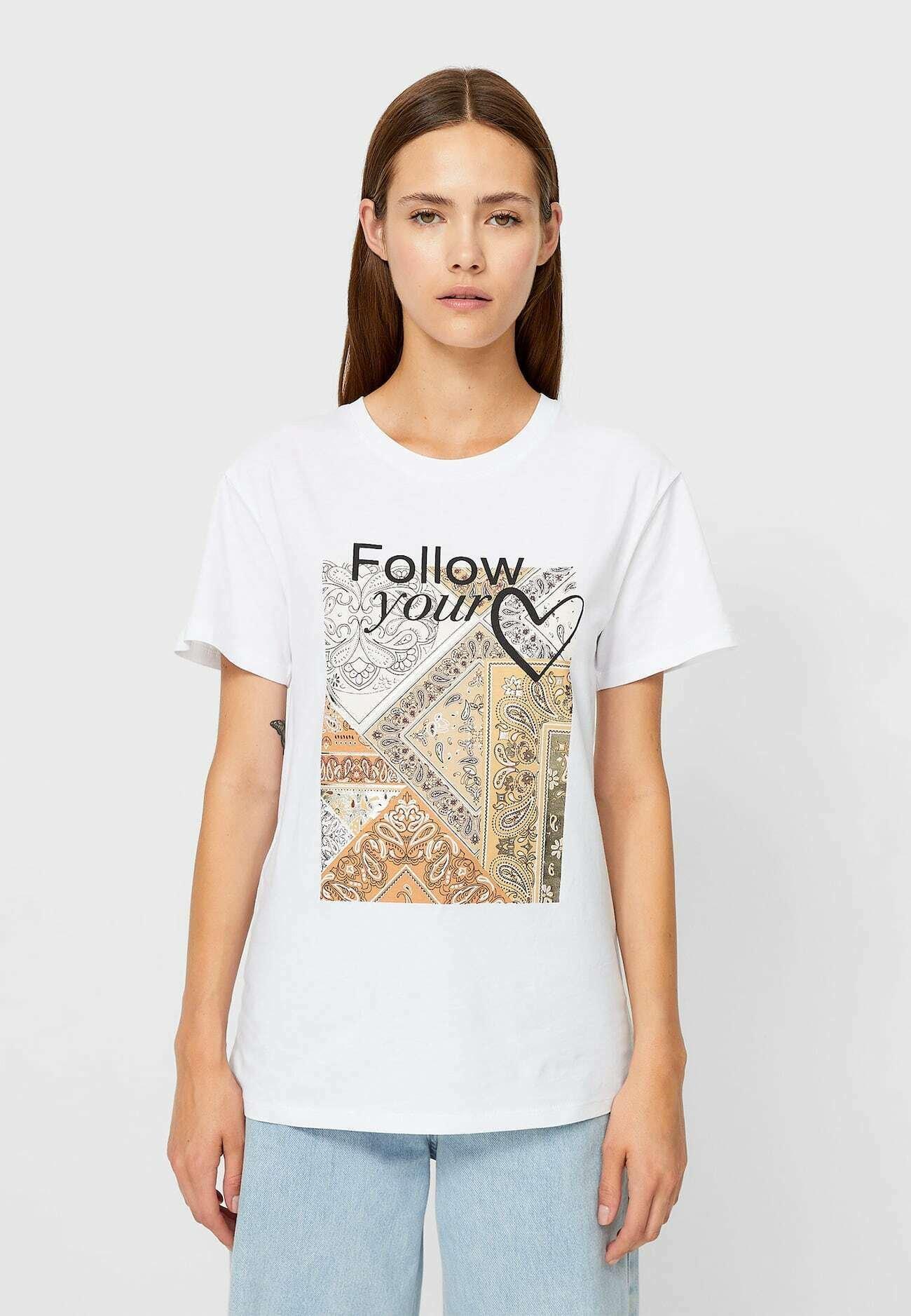 Damen MIT KETTENPRINT  - T-Shirt print