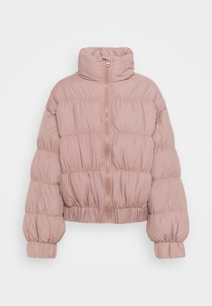 STATEMENT RUCHED PUFFER - Winterjas - rose