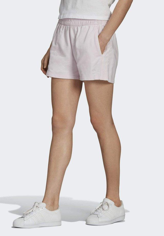 3 STRIPES ORIGINALS SHORTS - Shorts - pearl amethyst