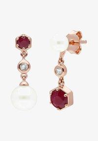 Gemondo - Earrings - red - 0