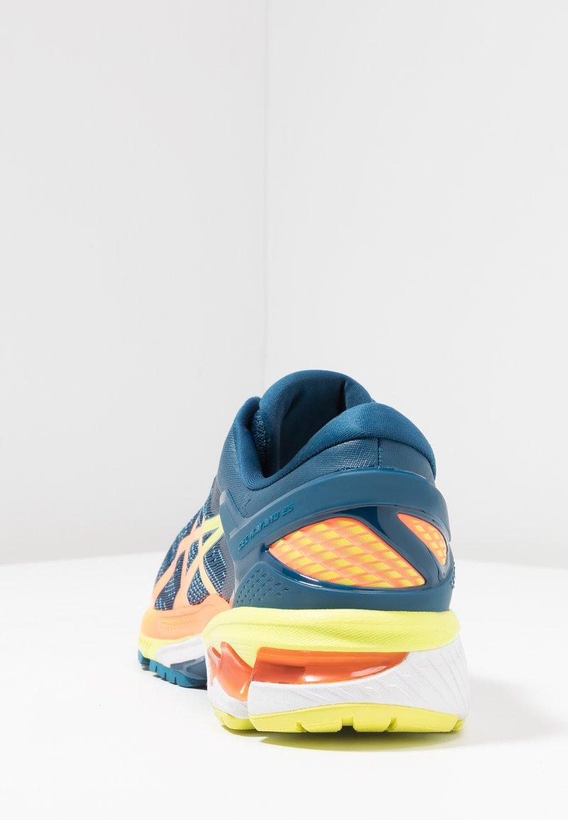 Mensajero Hola crítico  ASICS GEL-KAYANO 26 - Stabilty running shoes - mako blue/sour yuzu/blue -  Zalando.co.uk