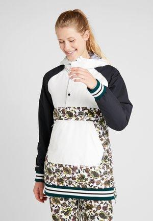 LOYLE ANORAK - Snowboard jacket - white
