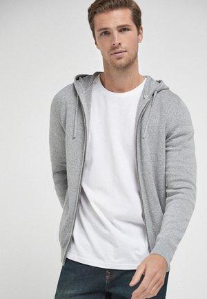 PREMIUM - Zip-up hoodie - grey