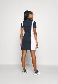Peak Performance - ALTA BLOCK DRESS - Sports dress - blue shadow/white - 2